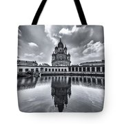 Temple Of Reflction Tote Bag