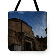 Temple Of Romulus Tote Bag