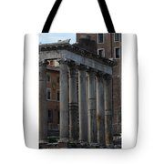 Temple Of Saturn Tote Bag
