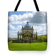 Temple Of The Four Winds Tote Bag