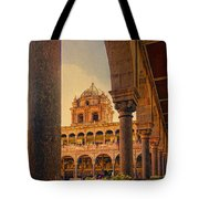 Temple Of The Sun Tote Bag