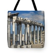 Temple Of Trajan View 3 Tote Bag