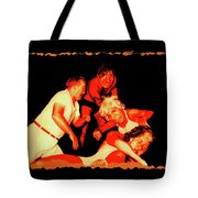 Temple Of Violence Tote Bag