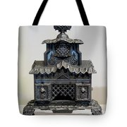 Temple Parlor Stove Tote Bag