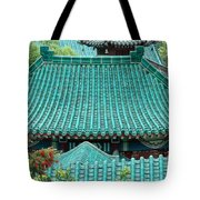 Temple Roofs Tote Bag