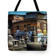 Temple Shop Tote Bag