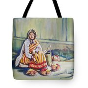 Temple-side Vendor Tote Bag