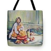 Temple-side Vendor Tote Bag