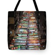 Temple Street Market In Hong Kong Tote Bag