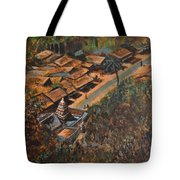 Temple Town Tote Bag
