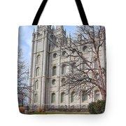 Temple Walk Tote Bag