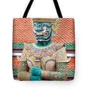Temple Warrior Tote Bag