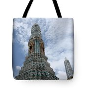 Temples, Thailand Tote Bag