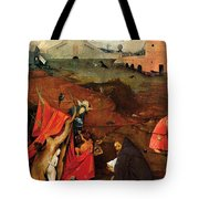 Temptation Of Saint Anthony, Right Wing Tote Bag