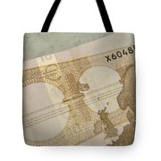 Ten Euro Note Tote Bag