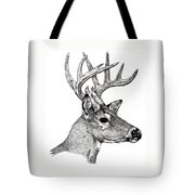 Ten Point Buck Tote Bag