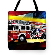 Ten Truck Fdny Tote Bag