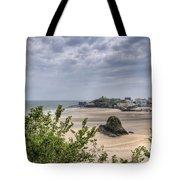 Tenby Pembrokeshire Low Tide Tote Bag