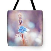 Tender Forget-me-not Flower Tote Bag