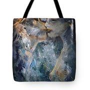 Tender Kiss Tote Bag