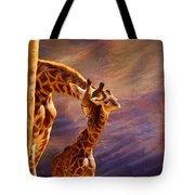 Tenderness Painted Tote Bag