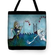 Tending Tote Bag by Delight Worthyn