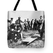 Tending To The Wounded Tote Bag