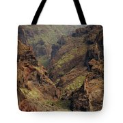 Tenerife Coastline Tote Bag