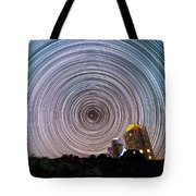 Tenerife Star Trails Tote Bag