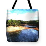 Tennessee Reservoir Tote Bag