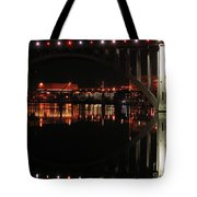 Tennessee River In Lights Tote Bag