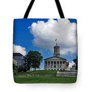 Tennessee State Capitol Nashville Tote Bag by Susanne Van Hulst