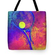 Tennis Art Version 1 Tote Bag