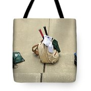 Tennis Banner Tote Bag