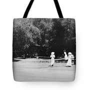 Tennis Champions Sutton And Hotchkiss Tote Bag