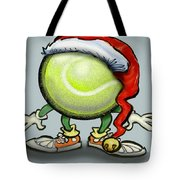 Tennis Christmas Tote Bag