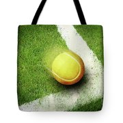 Tennis Point Tote Bag