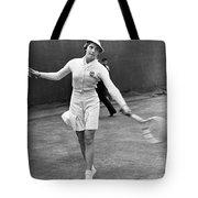 Tennis Star Katherine Stammers Tote Bag