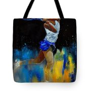 Tenniswoman 57 Tote Bag