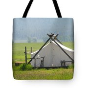 Tent Living Montana 2010 Tote Bag
