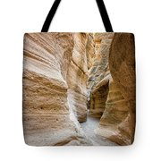 Tent Rocks Slot Canyon 2 - Tent Rocks National Monument New Mexico Tote Bag