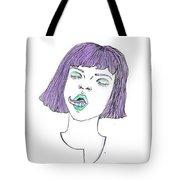 Tentatongue Tote Bag