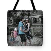 Ternopil Town Square, Ukraine Tote Bag