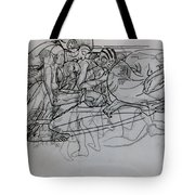 Tortured Faces Tote Bag