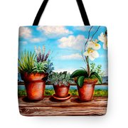 Terra Cotta Blues Tote Bag