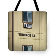 Terrace 13 Ithaca College New York Signage Tote Bag