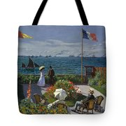 Terrace At Sainte-adresse Tote Bag