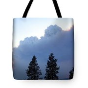 Terrace Mountain Smoke Tote Bag