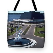 Terrace Point Muskegon Michigan Tote Bag