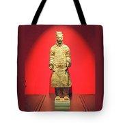 Terracotta Warrior  A Brave Commanding Officer   Tote Bag